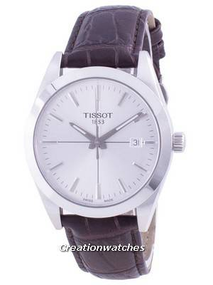 Tissot T-Classic Gentleman Quartz T127.410.16.031.01 T1274101603101 100M Men\'s Watch