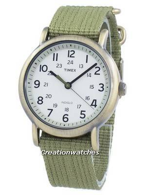 Timex Weekender Indiglo Quartz T2N894 Unisex Watch