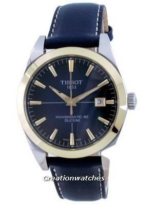 Tissot Gentleman Powermatic 80 Silicium Automatic 18 K Gold T927.407.46.041.01 T9274074604101 Men\'s Watch
