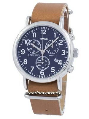 Timex Weekender Indiglo Chronograph Quartz TW2P62300 Men's Watch