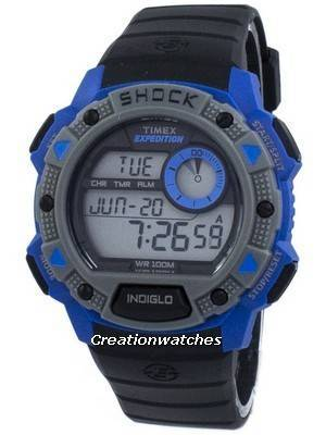 Timex Expedition Base Shock Indiglo Digital TW4B00700 Men's Watch