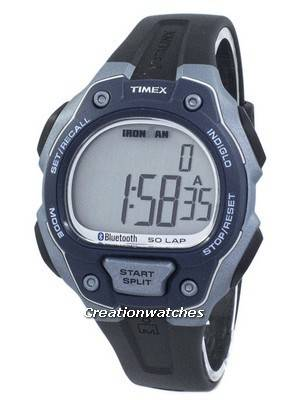 Timex Ironman Classic 50 Lap Datalink Bluetooth Digital TW5K86600 Men's Watch