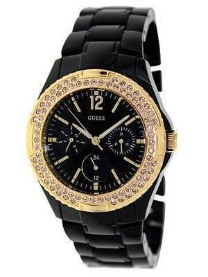 Guess Quartz Quartz Black Band U0062L8 Women's Watch