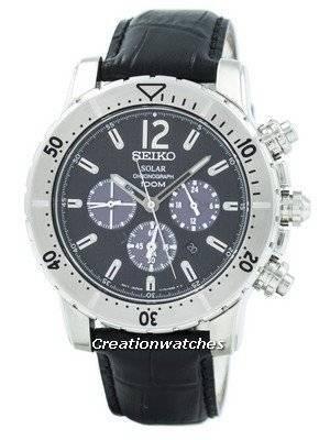 Refurbished Seiko Solar Chronograph SSC223P2 Men's Watch