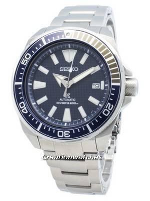 Remodelado Seiko Prospex Samurai SRPB49 SRPB49J1 SRPB49J O Japão fez mergulhadores 200M Relógio masculino