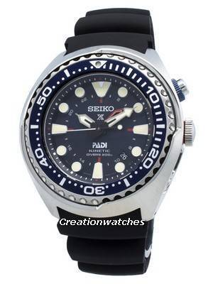 Refurbished Seiko Prospex SUN065 SUN065P1 SUN065P Kinetic PADI Edition Diver's 200M Men's Watch
