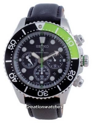 Refurbished Seiko Prospex Diver\'s Solar Chronograph SSC615 SSC615P1 SSC615P 200M Men\'s Watch