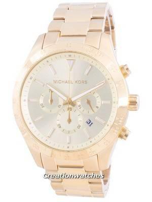 Refurbished Michael Kors Layton Quartz Chronograph MK8782 Men\'s Watch