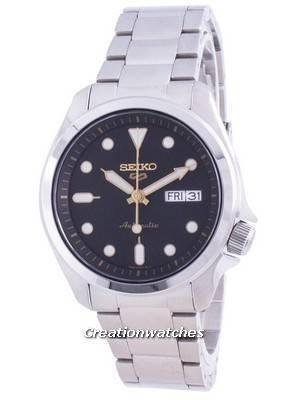 Refurbished Seiko 5 Sports Automatic Black Dial  SRPE57 SRPE57K1 SRPE57K 100M Men\'s Watch