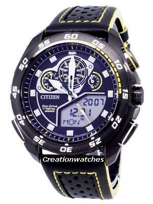 Refurbished Citizen Promaster Chronograph Eco-Drive JW0125-00E 200M Men\'s Watch