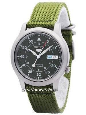 Refurbished Seiko 5 Military Automatic Nylon SNK805K2 Men\'s Watch