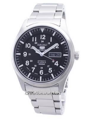 Refurbished Seiko 5 Sports Automatic SNZG13 SNZG13J1 SNZG13J 100M Men\'s Watch