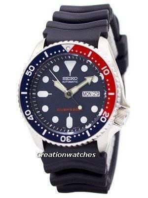 Refurbished Seiko Automatic Diver\'s SKX009 SKX009K1 SKX009K 200M Men\'s Watch