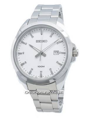 Refurbished Seiko Classic Quartz SUR205 SUR205P1 SUR205P 100M Men\'s Watch