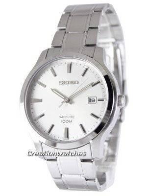 Refurbished Seiko Neo Classic Quartz Sapphire SGEH39 SGEH39P1 SGEH39P 100M Men\'s Watch