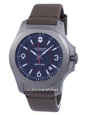 Relógio Victorinox I.N.O.X. titânio exército Suíço quartzo 200m 241778 masculino