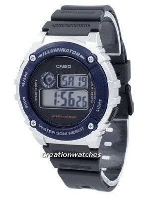Casio Illuminator Chronograph Alarm W-216H-2AV W216H-2AV Men's Watch