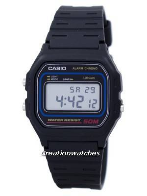 Casio Alarm Chrono Digital W-59-1VQ W59-1VQ Men's Watch