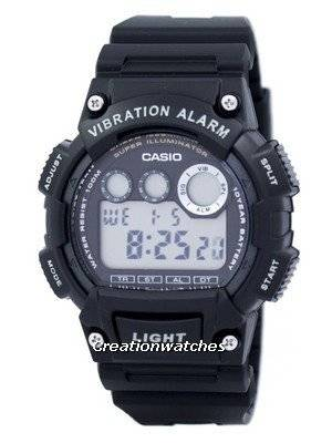 Casio Digital Illuminator W-735H-1AVDF W735H-1AVDF Men's Watch