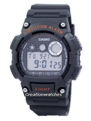 Casio Digital Vibration Alarm Illuminator W-735H-8AVDF W735H-8AVDF Men's Watch