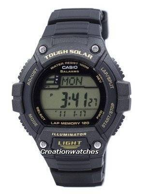 Casio Youth Digital Tough Solar 5 Alarms W-S220-9AVDF WS220-9AVDF Men's Watch