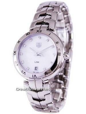Tag Heuer Link Bracelet Diamond Dial WAT1315.BA0956 Women's Watch