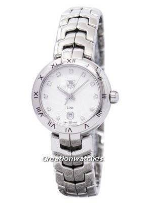 Tag Heuer Link Bracelet Diamond Dial WAT1411.BA0954 Women's Watch