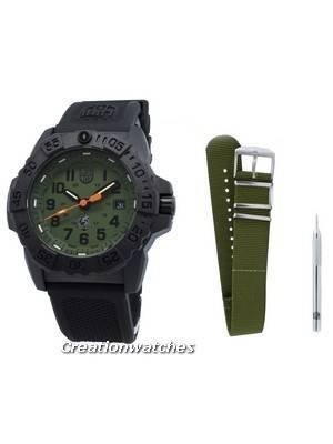 Luminox Navy Seal XS.3517.NQ.SET Relógio de quartzo para homens 200M