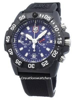 Relógio Luminox Navy Seal XS.3583, cronógrafo de quartzo 200M para homem