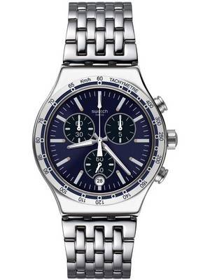 Swatch Irony Dress My Wrist Chronograph Tachymeter YVS445G Men's Watch