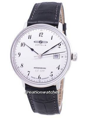 Zeppelin Series LZ 129 Hindenburg Germany Made 7046-1 Men's Watch