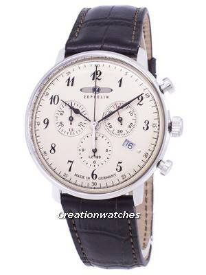 Zeppelin Series LZ 129 Hindenburg ED.1 Germany Made 7086-4 70864 Men's Watch