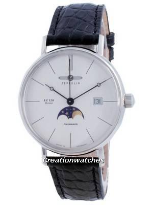 Zeppelin LZ120 Rome Moon Phase Automatic 7108-4 71084 Men\'s Watch