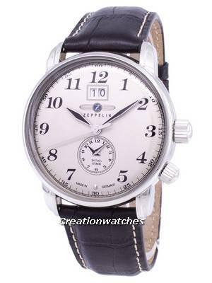 Zeppelin Series LZ127 Graf Germany Made 7644-5 76445 Men's Watch