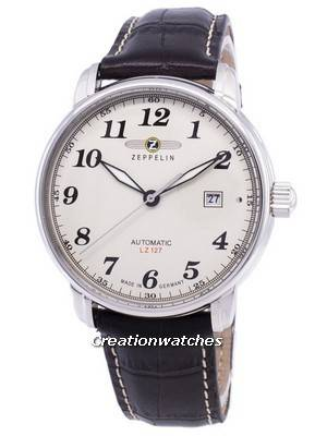 Zeppelin Series LZ127 Graf Germany Made 7656-5 76565 Men's Watch