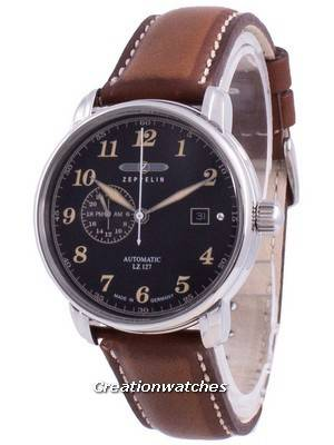 Zeppelin LZ127 Graf Black Dial Automatic 8668-2 86682 Men\'s Watch