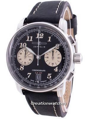 Zeppelin LZ127 8674-3 86743 Quartz Chronograph Men\'s Watch