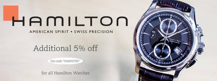 Hamilton Watches on Sale with Free Worldwide Shipping